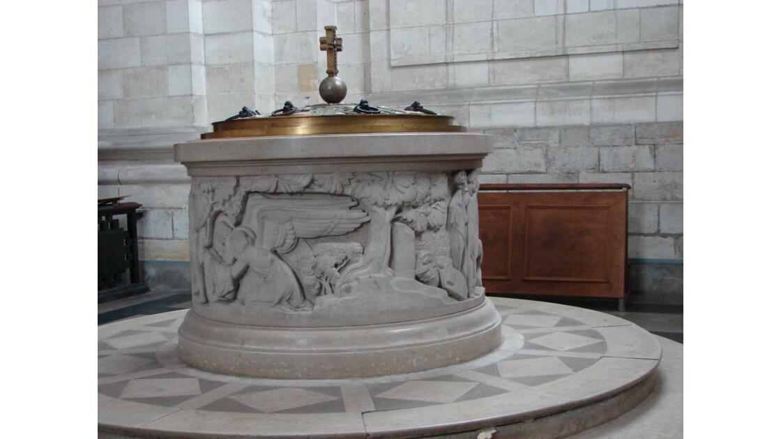 Fonds baptismaux (Arras)