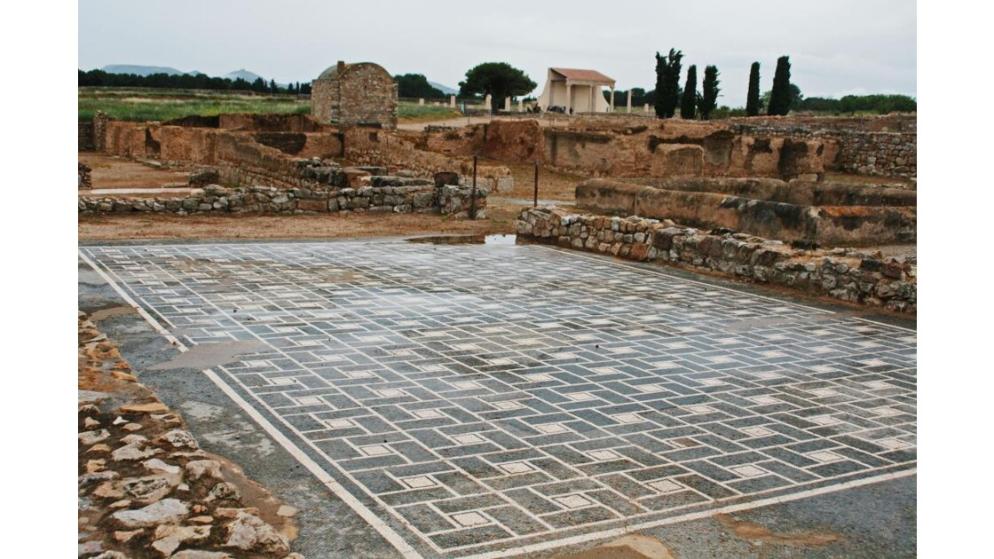 Mosaïque romaine d'Empuries