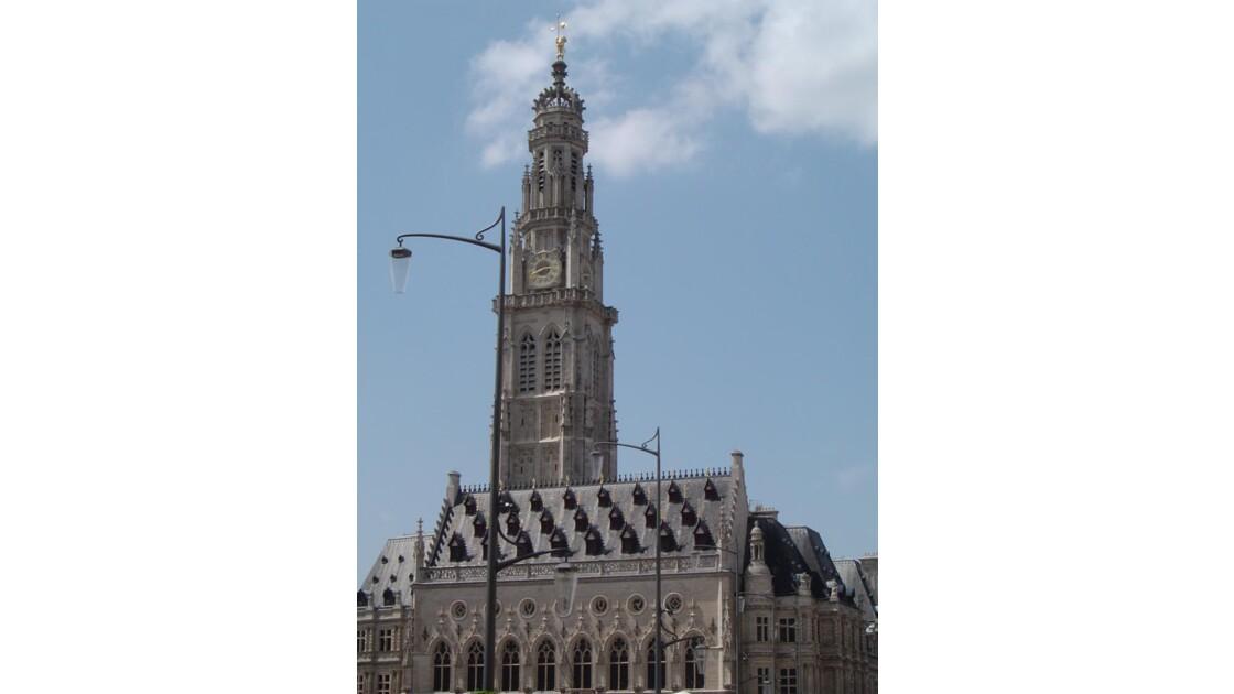 Hôtel de ville et le beffroi (Arras)