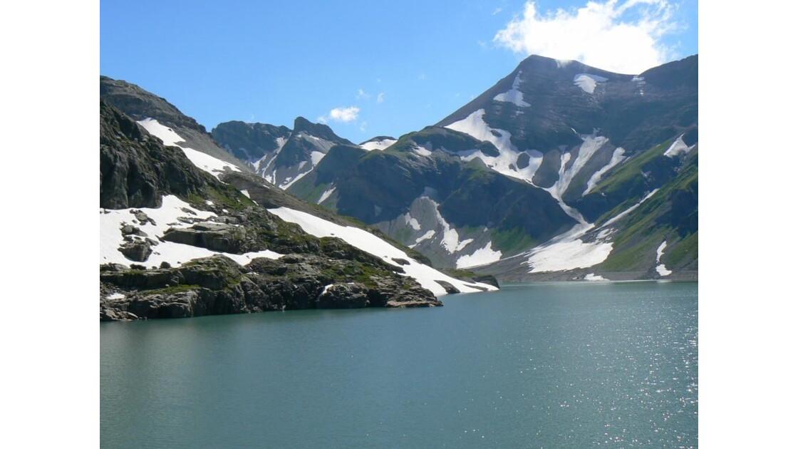 Lac d'Emosson (barrage)