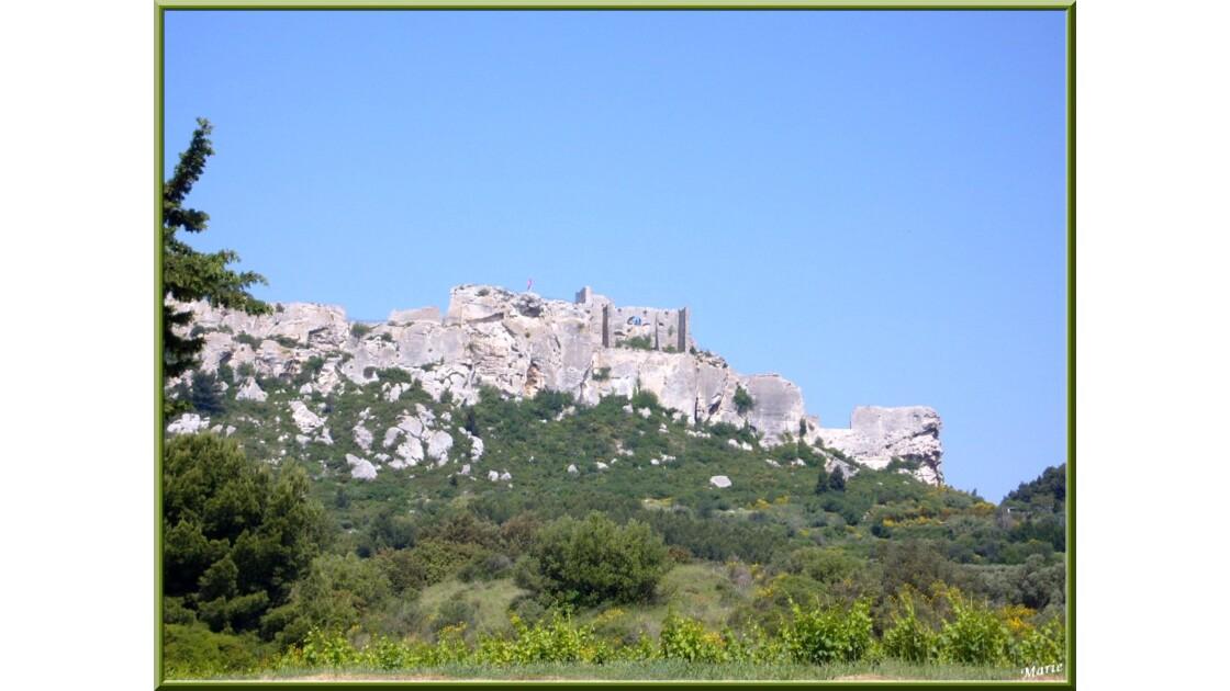 Le village côté château vue de la vallée