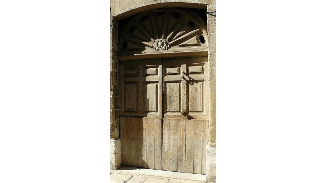 Vieille vieille porte