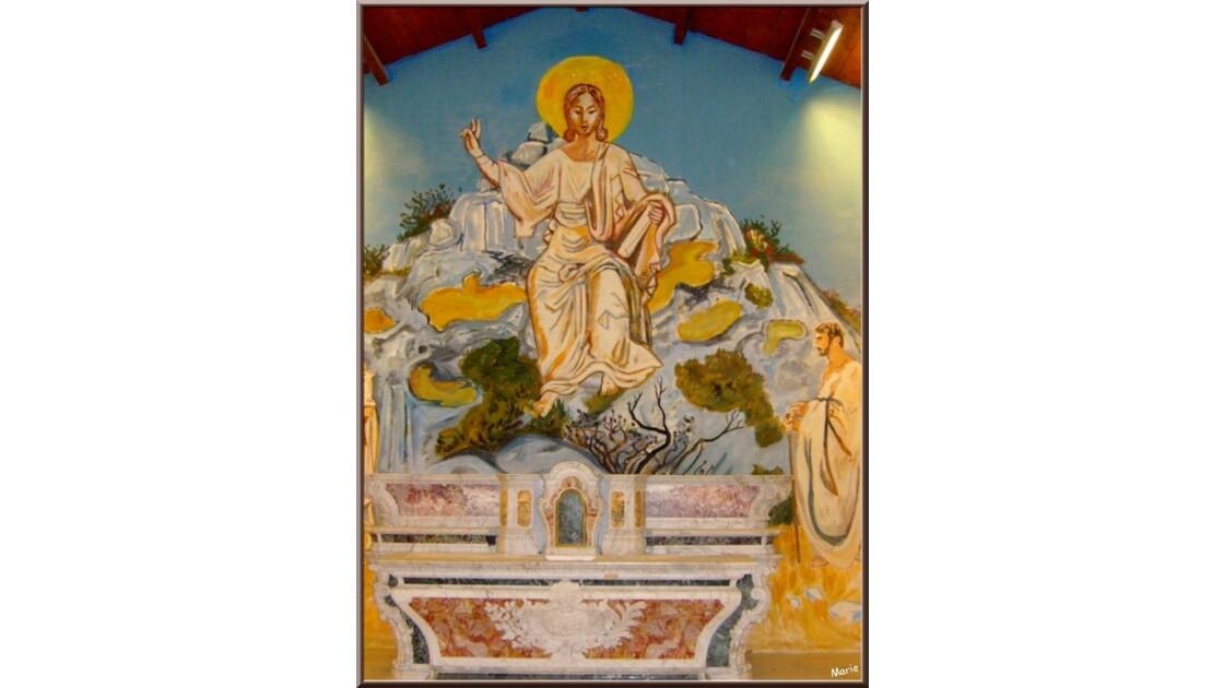 Chapelle Pénitents Blancs, l'autel