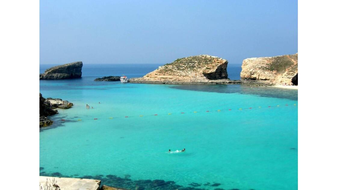 Ile de Comino blue lagon 2