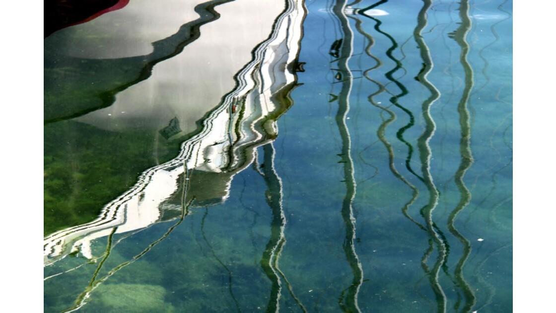 Reflet sur lac