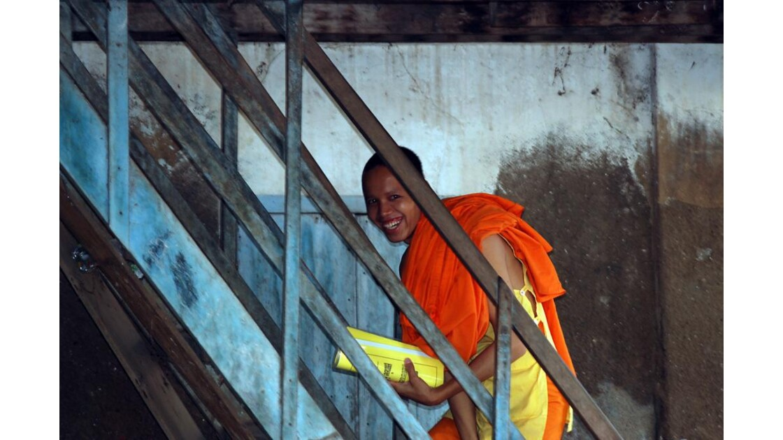 Cambodge, moines