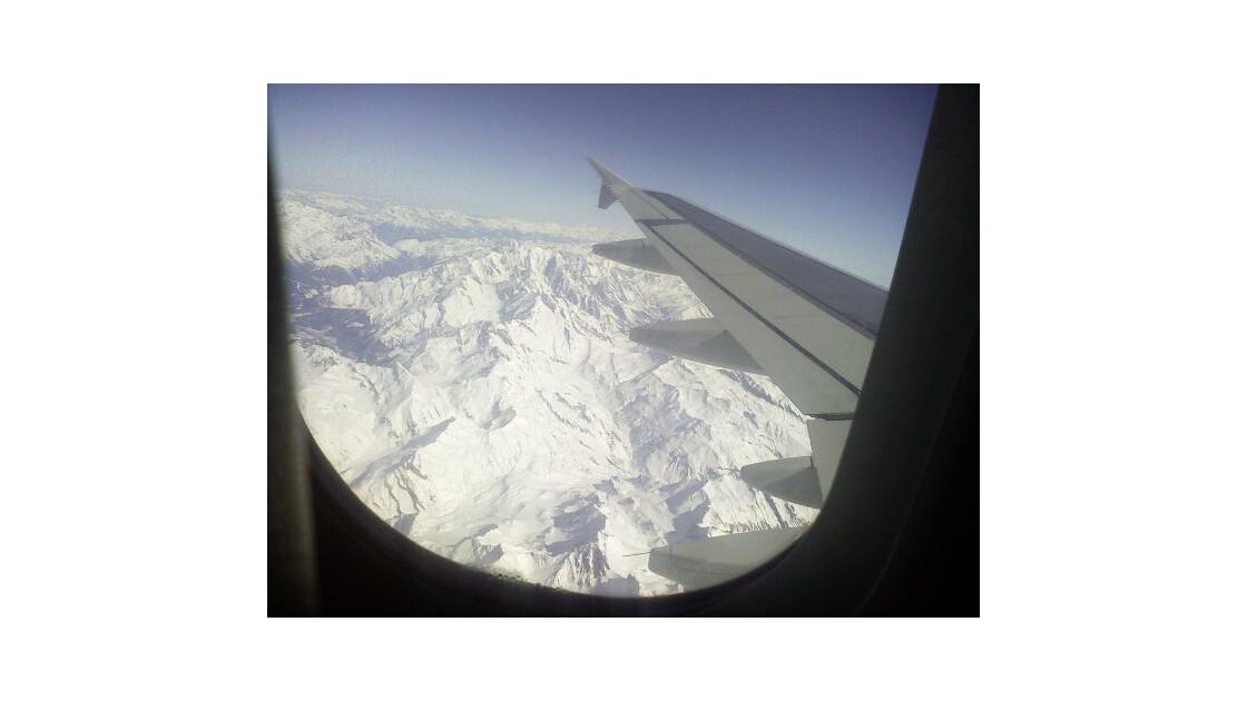 Les Alpes (vue aérienne)