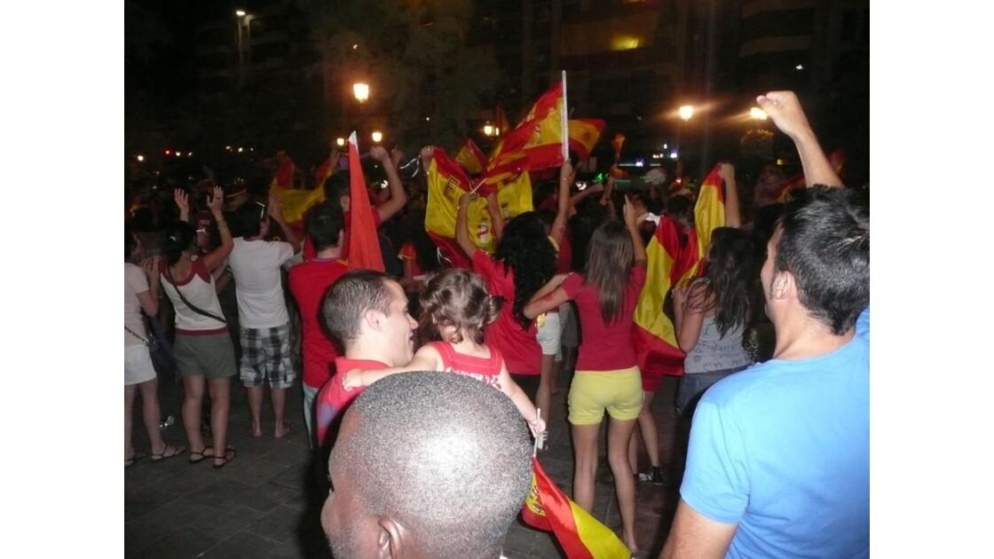 la joie des espagnoles