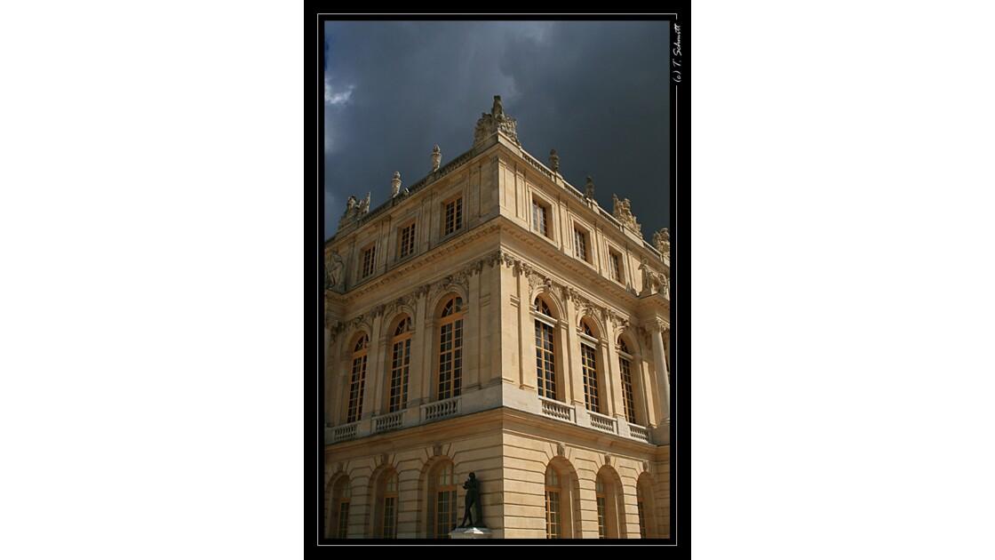 Orage à Versailles
