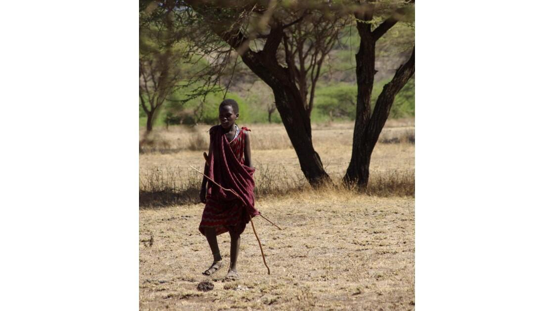 Le petit guerrier Massaï