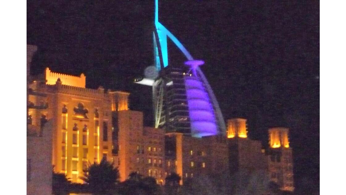 DUBAI - BURJ  - ARAB - ¨Hôtel *******