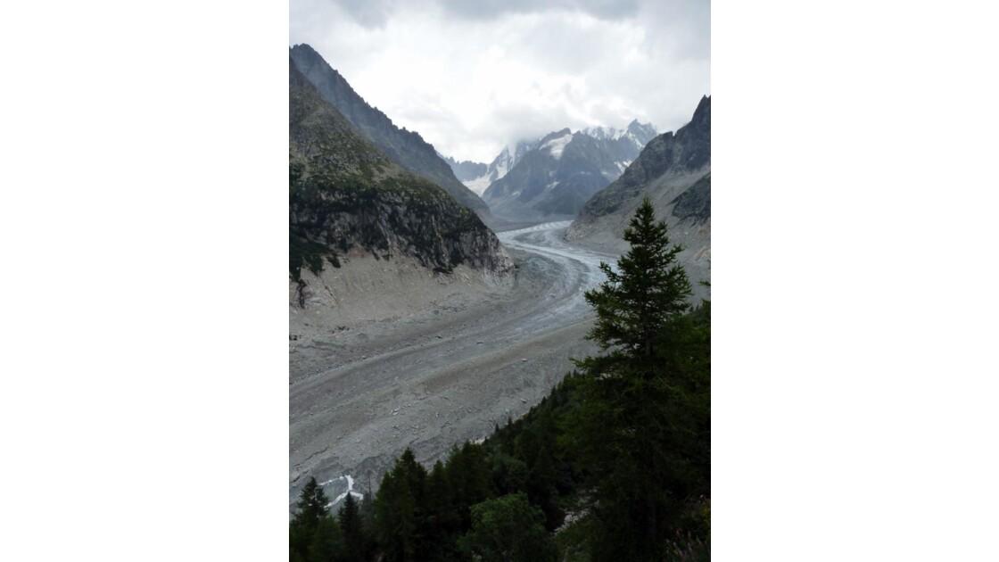 """Glacier """"Mer de Glace"""""""