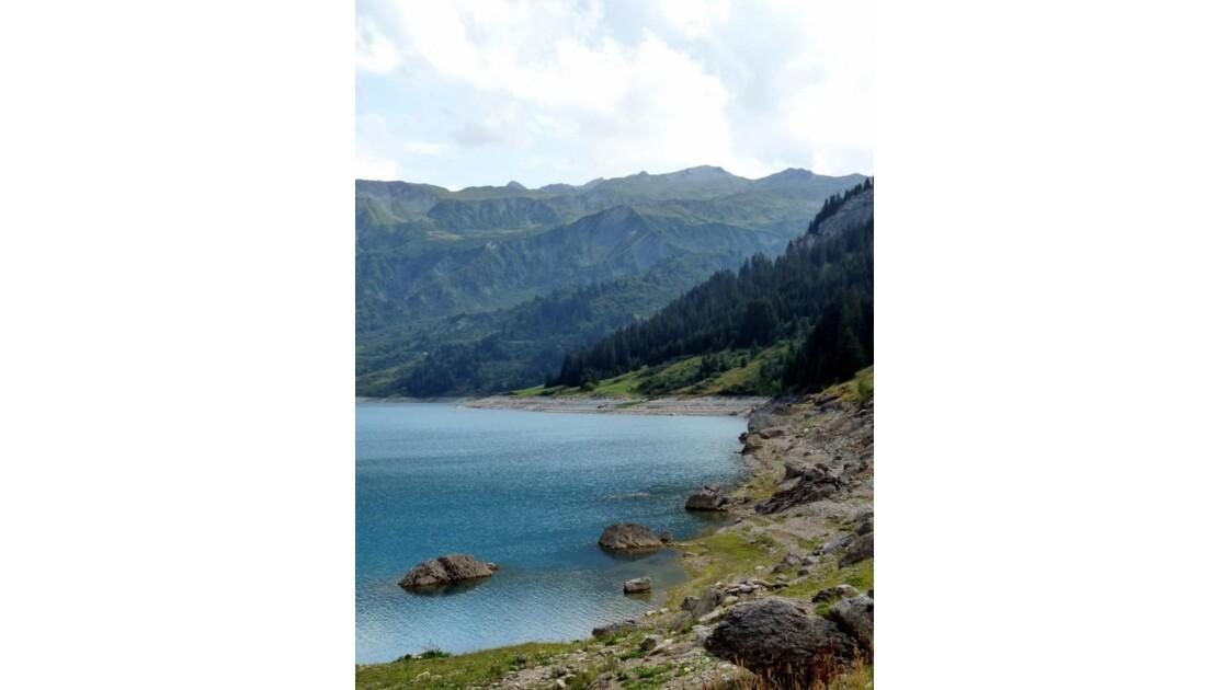 Barrage de Roseland, Alpes