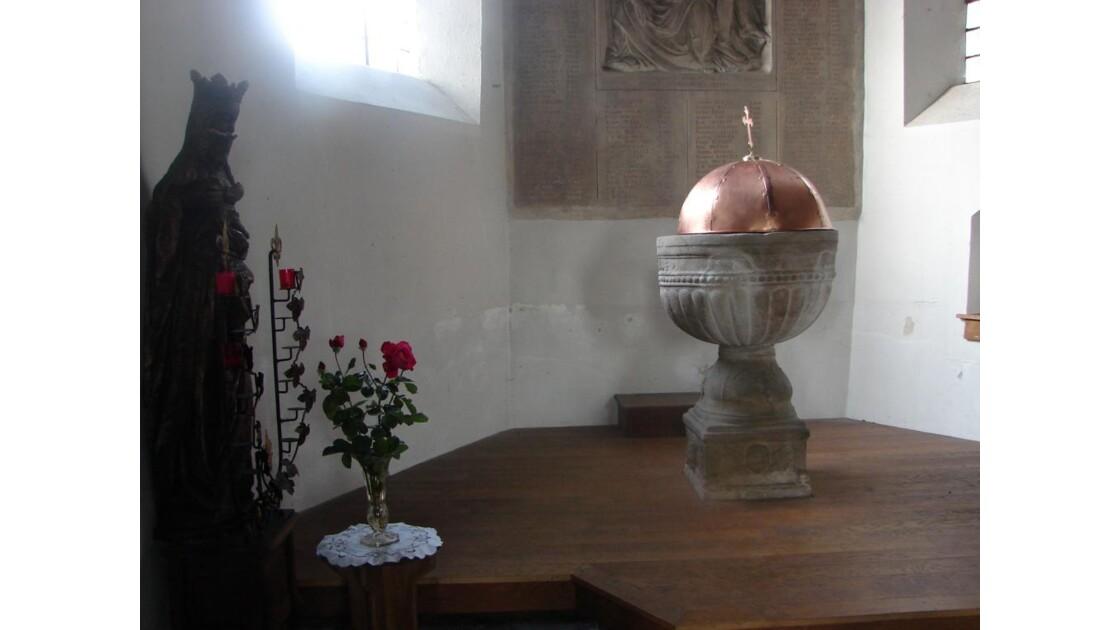 Fonds baptismaux (Flines Lez Raches)