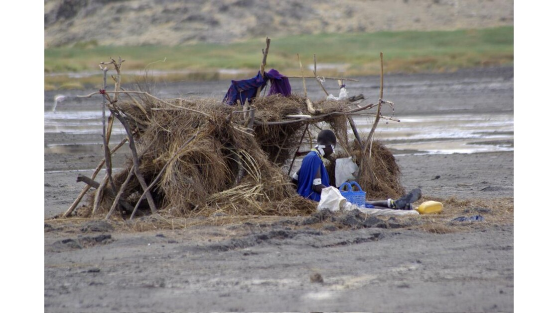 Campement Massaï volcan Lengaï