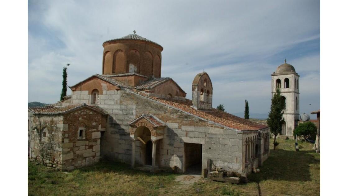 élise Byzantine au site d'Apolonia