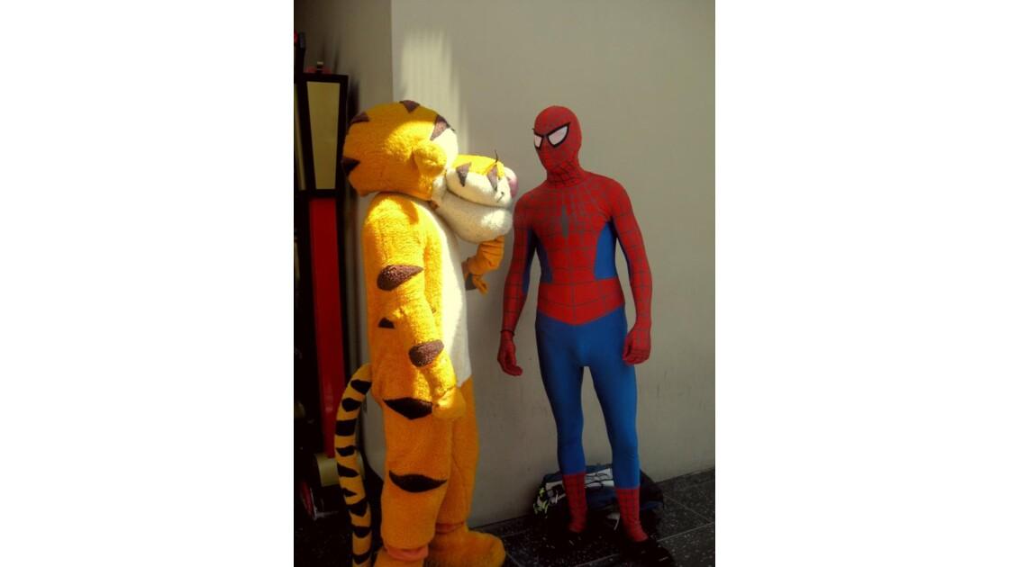 Tigrou & Spiderman