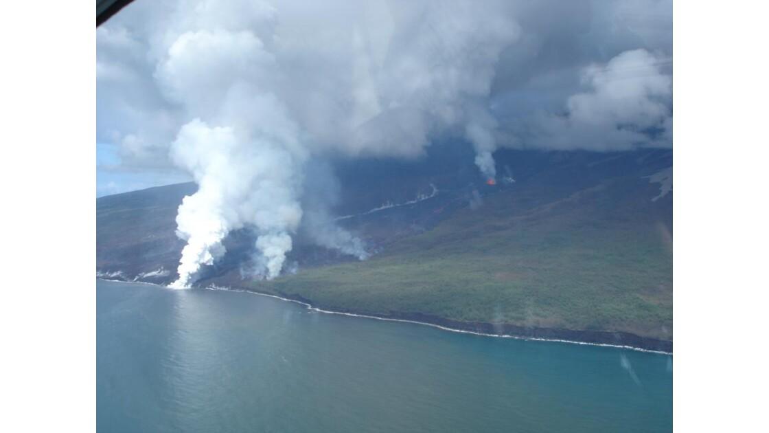 La Fournaise, éruption 04/2007 g