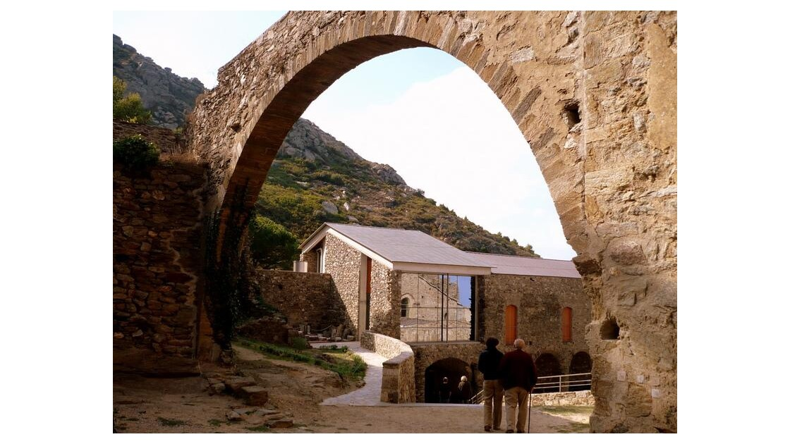 l'arche et l'entrée