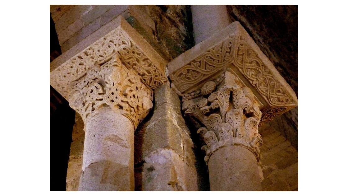 Chapiteaux Corynthien de la nef