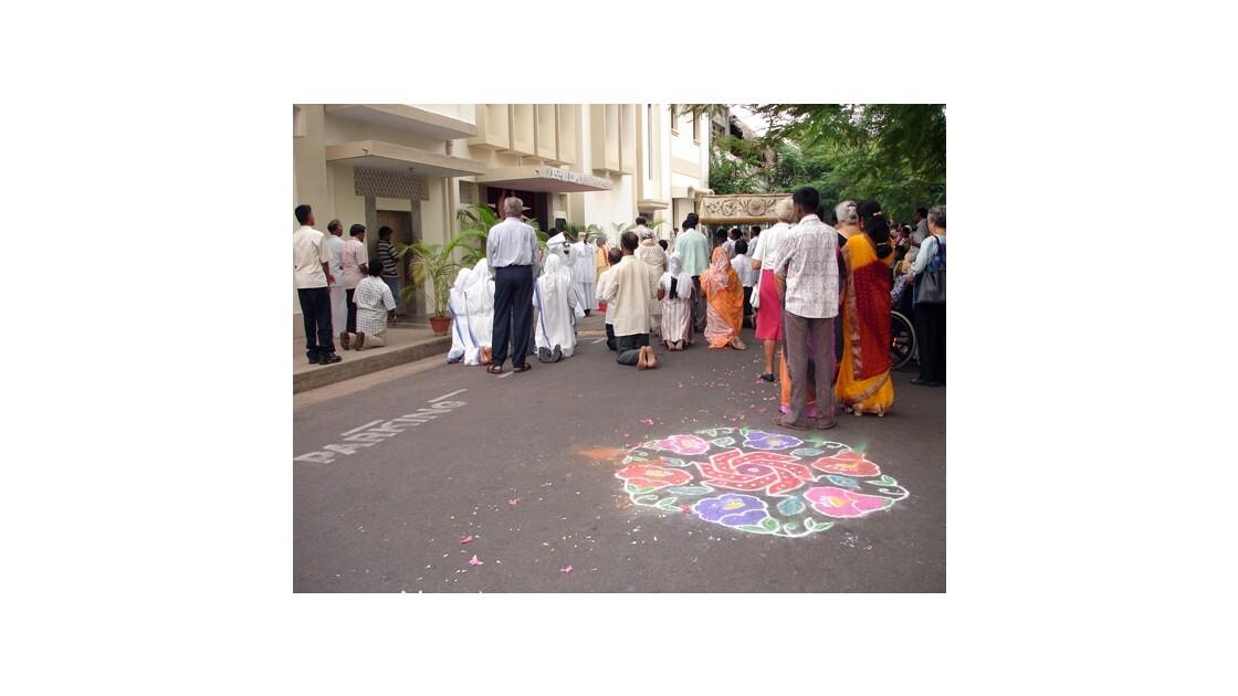 Procession à Pondy