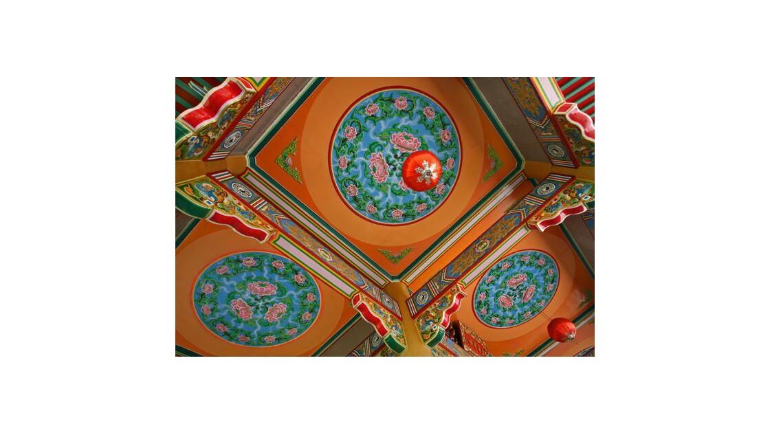 Temple chinois au Sarawak