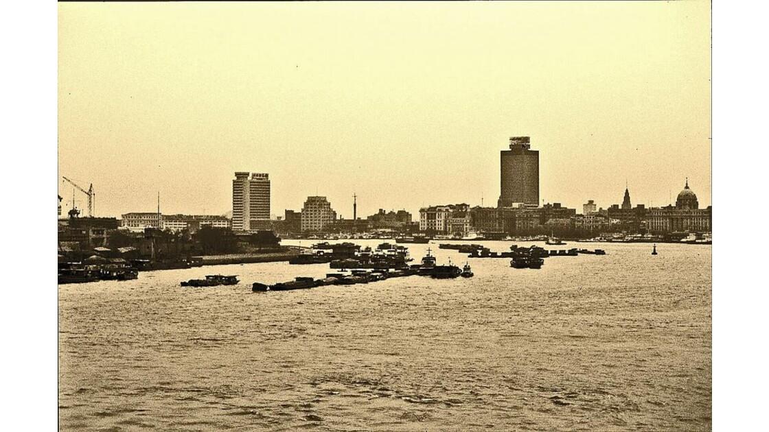 Sur la rivière Huangpu