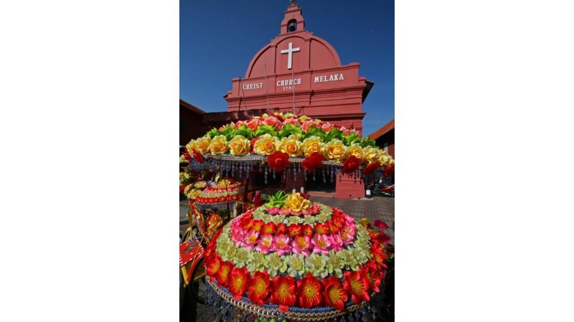 Melaka en fleurs