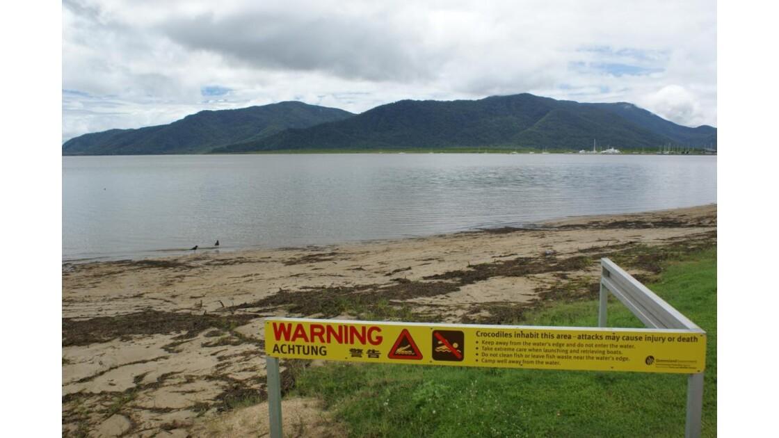 Cairns - Baignade à risque