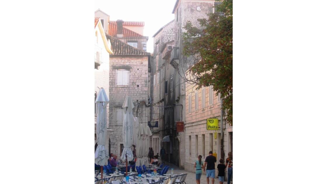 Croatie Trogir Vieille ville