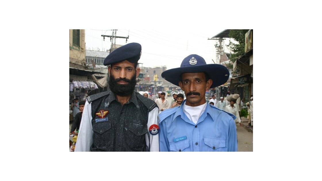 La police au Pakistan