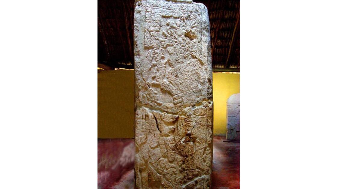 Stèle à Edzna