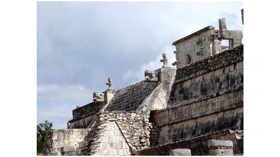 15 Chichen Itza Temple des Guerriers