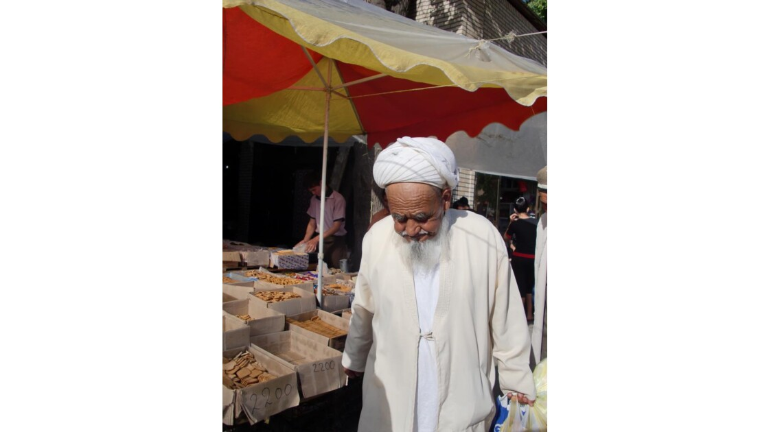 Samarcande le bazar
