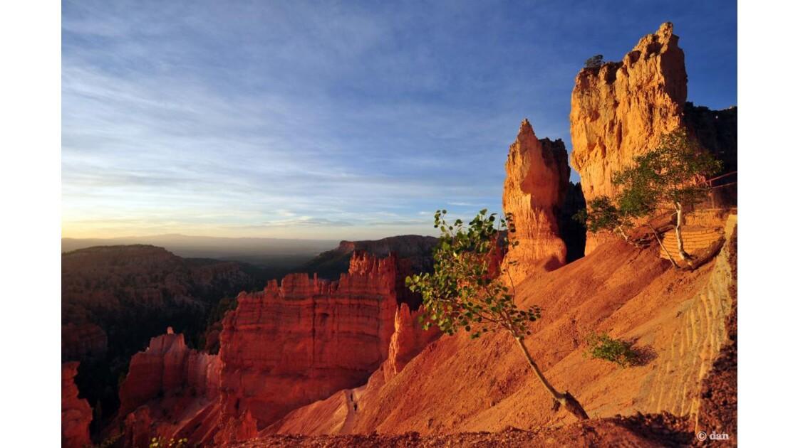 Lever de soleil au Kings Canyon
