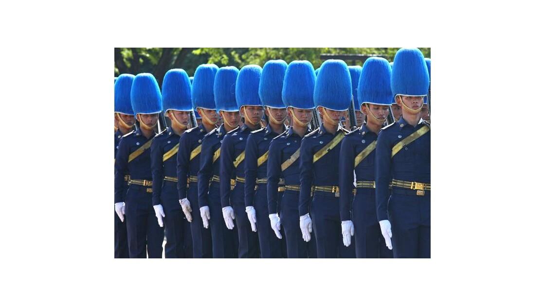 Casques bleus de... Thailande