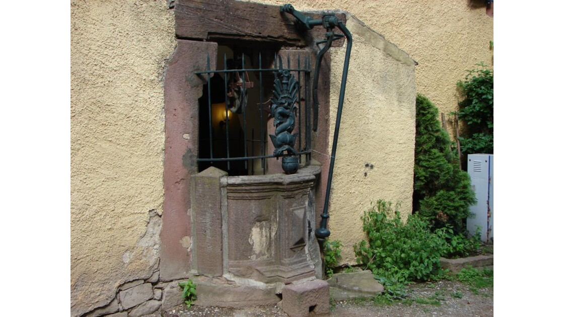 Ancien puits (Riquewihr)
