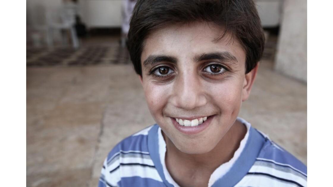 Syrie - Alep - Sourire