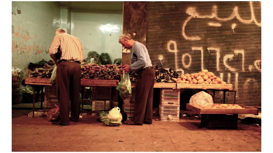 Syrie - Alep - Night bazar