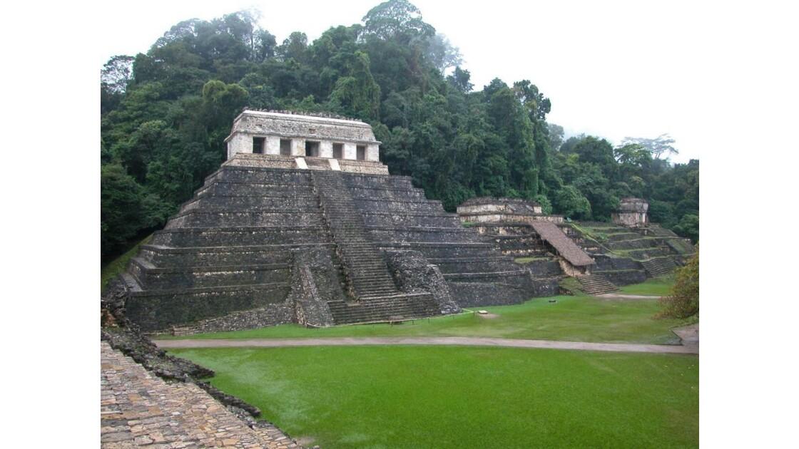 Palenque, le Temple des Inscriptions