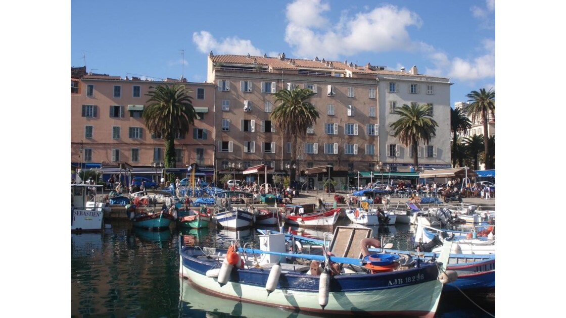 Vieux port d' Ajaccio