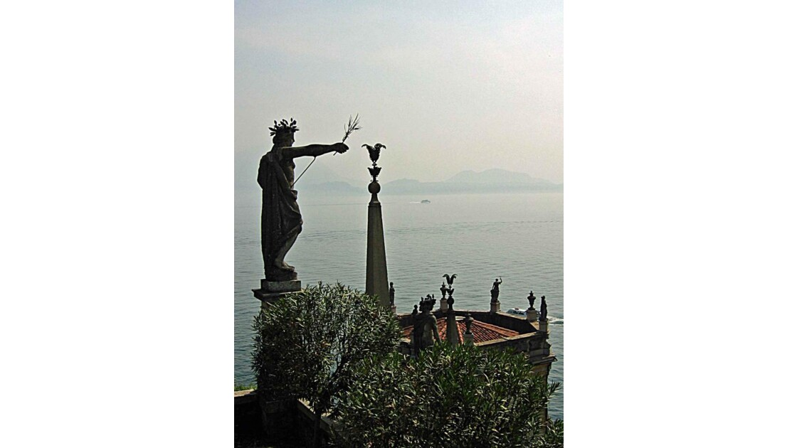 Isola Bella et le lac Majeur