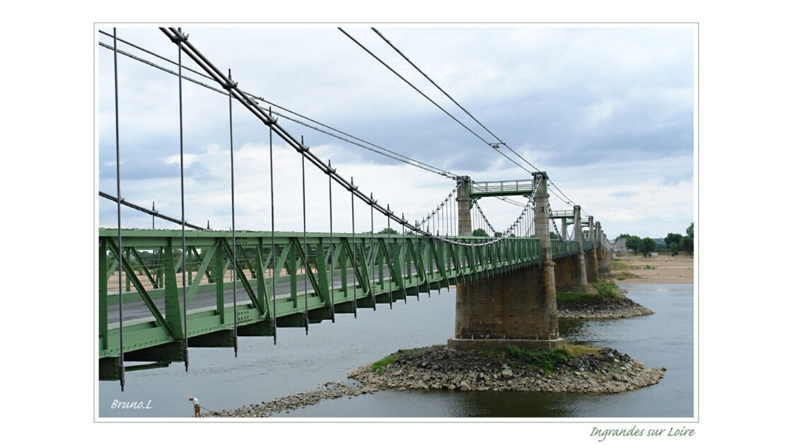 Pont suspendu d'Ingrandes