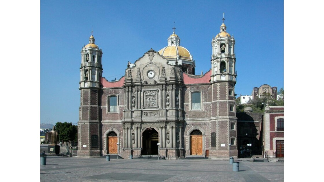 Mexico, Basilique de la Guadalupe