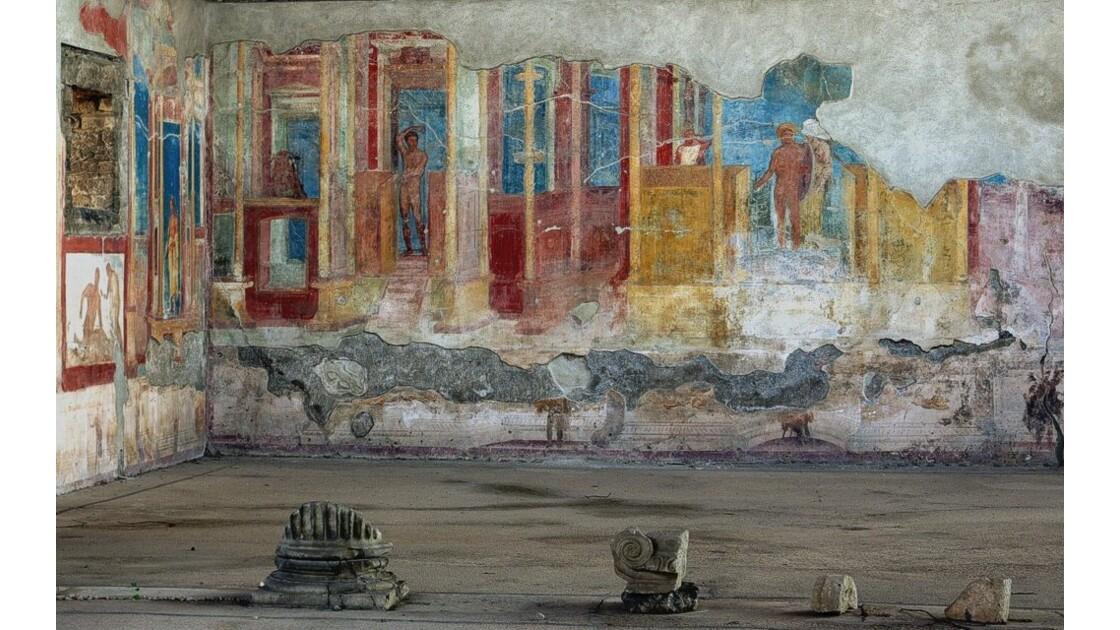 Pompei - fresque murale