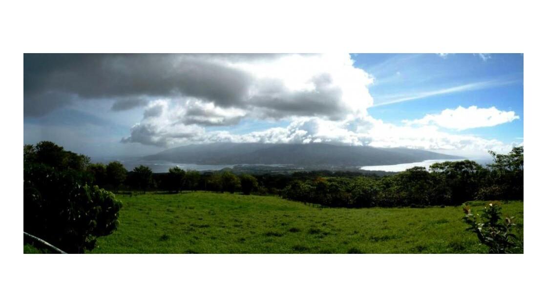 Panoramique - Vue sur Tahiti Nui