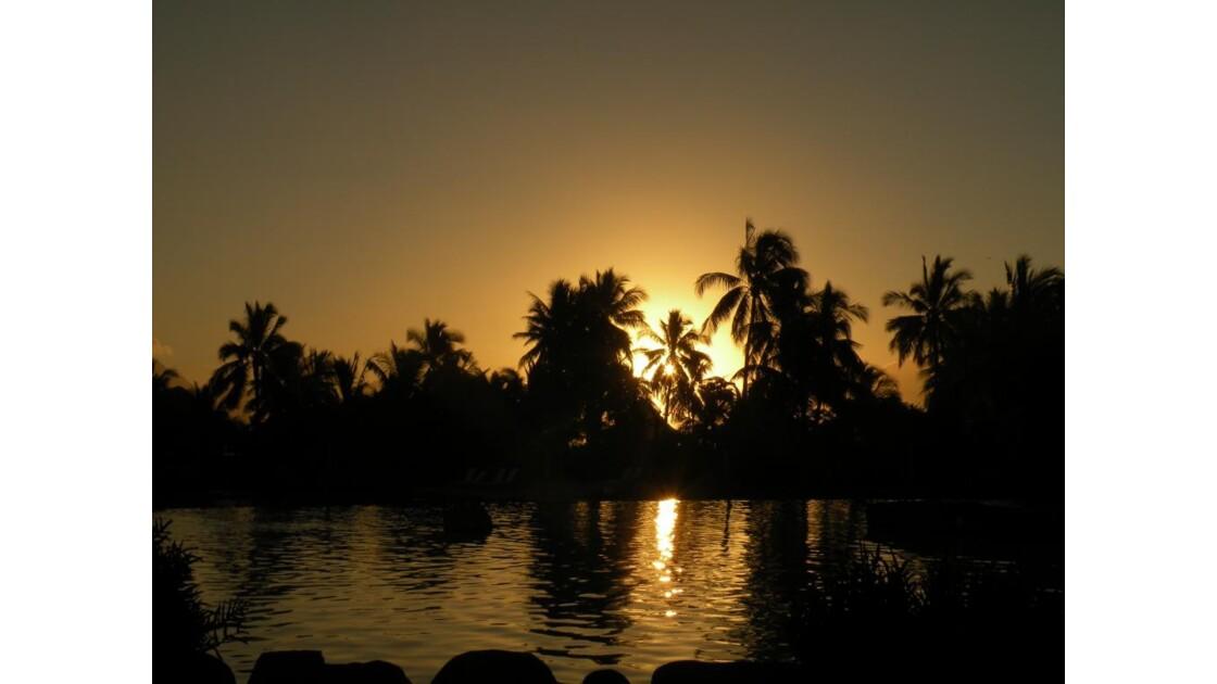 Coucher de soleil - Tahiti