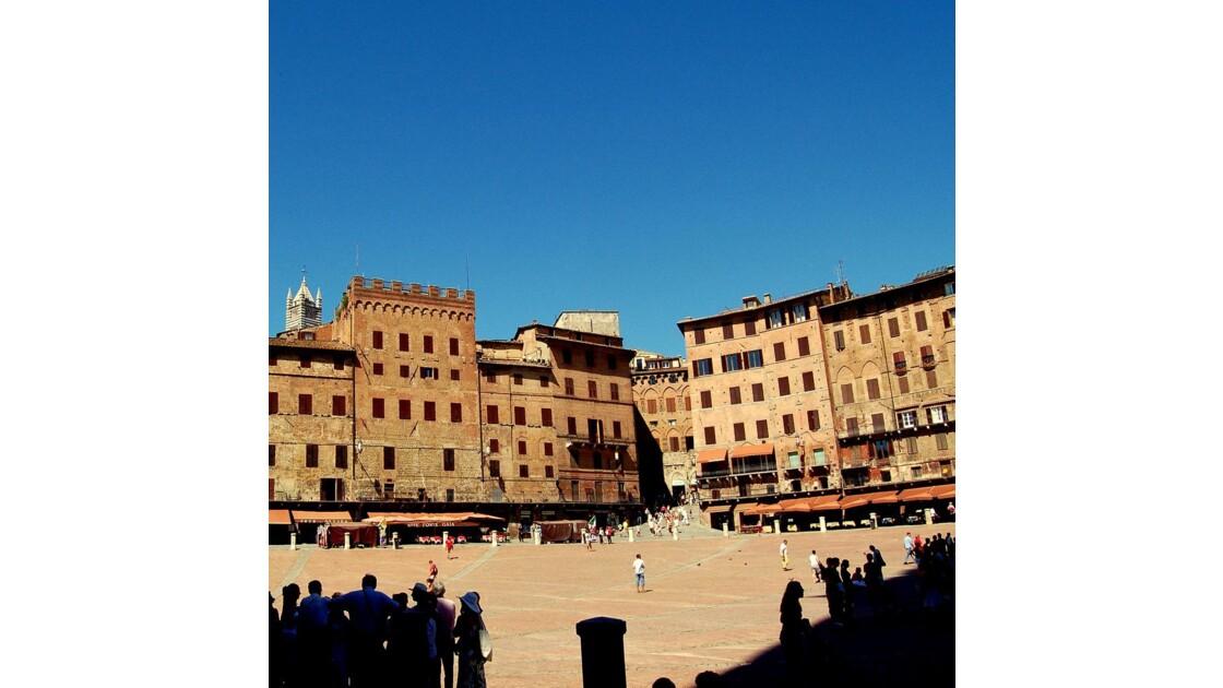 Sienne : Piazza del Campo
