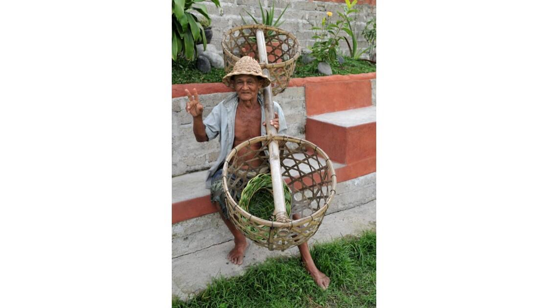 Paysan Rizieres Bali
