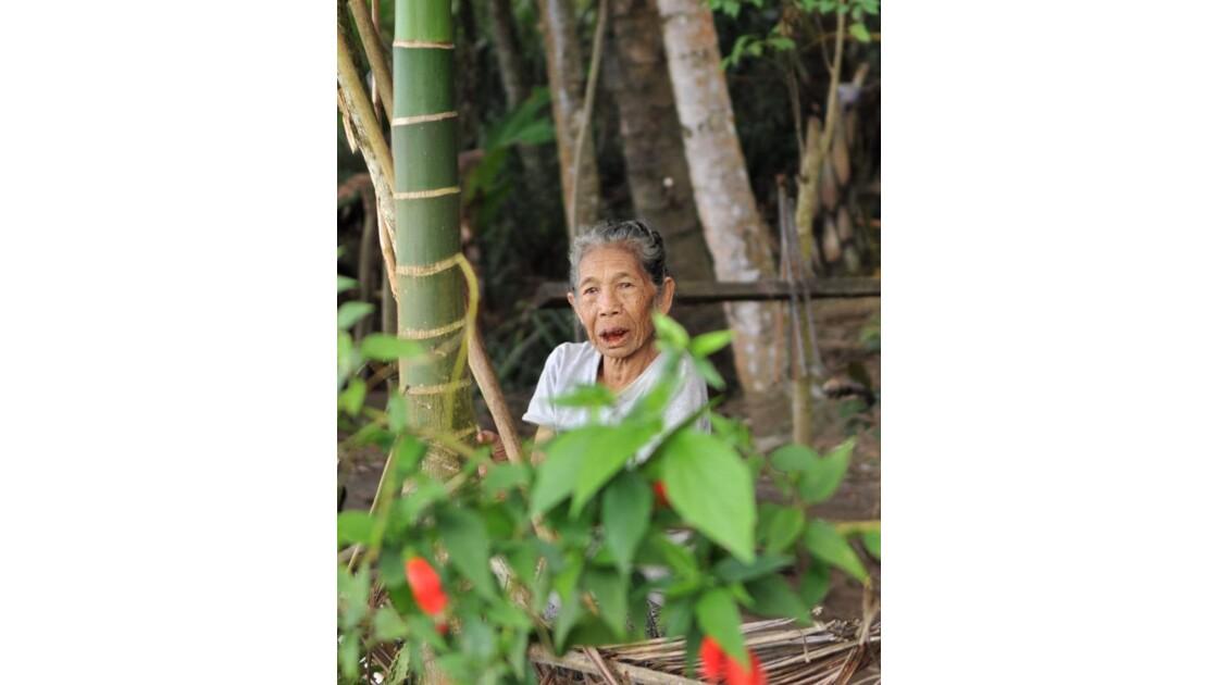 Femme Riziere Bali